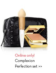 Online only! Complexion Perfection set.