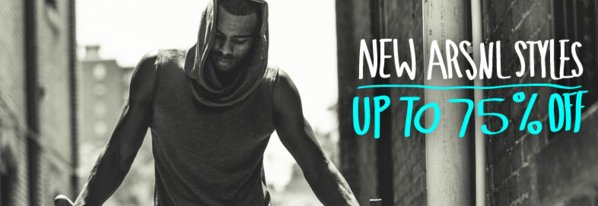 Shop New ARSNL: Up to 75% Off