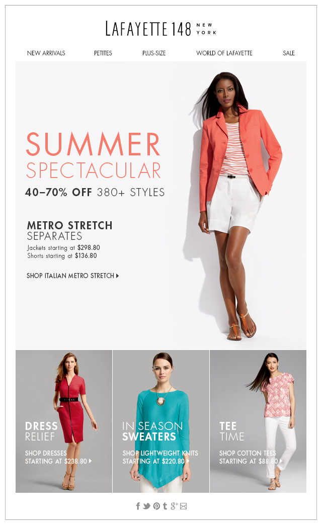 Summer Must-Haves Now 40-70% Off!