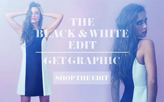 Black and White Edit | Shop Now