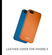 Leather Cover for iPhone 5 - Shop now