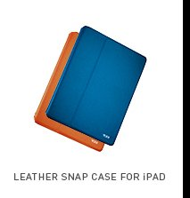 Leather Snap Case for iPad - Shop now