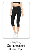Shaping Compression Knee Pant