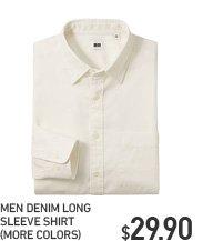 MEN DENIM SHIRT