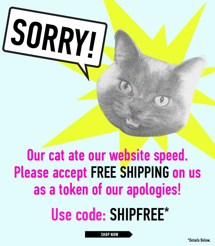 Sorry! - Shop Now