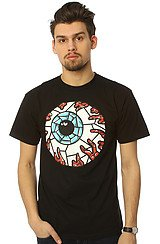 Stained Glass Keep Watch Tee in Black