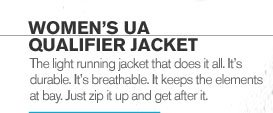 WOMENS UA QUALIFIER JACKET