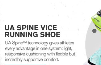 UA SPINE VICE RUNNING SHOE