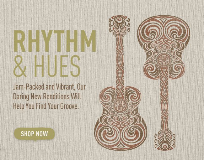 Rhythm & Hues - Shop the Life is good Music Themed Products