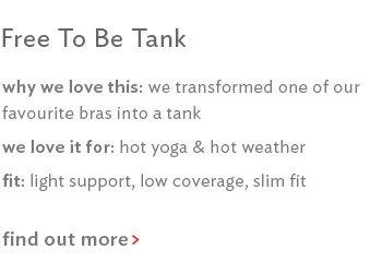 Free To Be Zen Tank