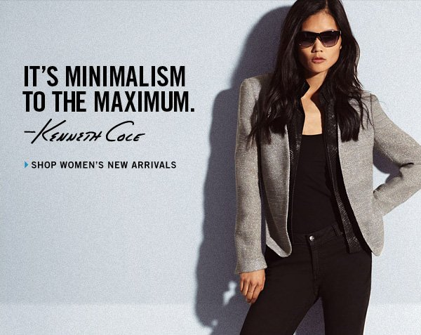 IT'S MINIMALISM TO THE MAXIMUM - Shop Women's New  Arrivals