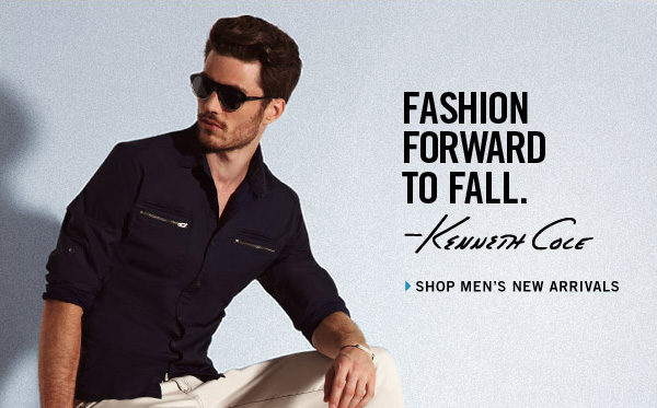 FASHION FORWARD TO FALL - Shop Men's New  Arrivals