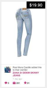 Zana Di skinny jeans