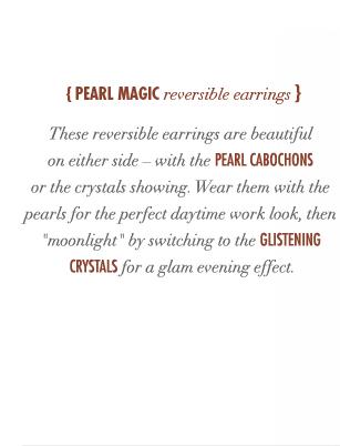 Pearl Magic Reversible Earrings
