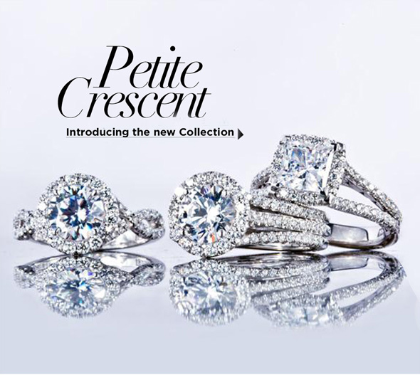 Introducing The NEW Petite Crescent Collection By Tacori