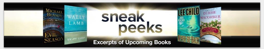 Sneak Peeks