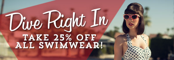 Take 25% Off All Swimwear