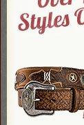 Mens Belts on Sale