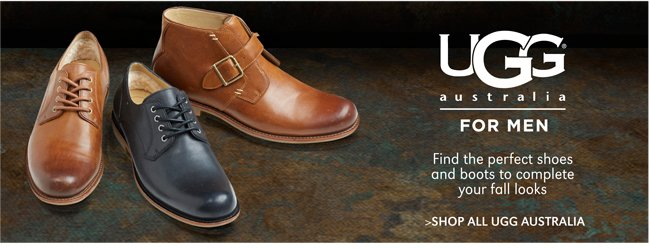 UGG AUSTRALIA | FIND THE PERFECT SHOES AND BOOTS TO COMPLETE YOUR FALL LOOKS | SHOP ALL UGG AUSTRALIA