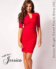 Jessica Wright Fitted Pencil Dress