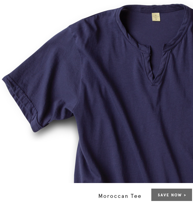 Save Now - Moroccan Tee