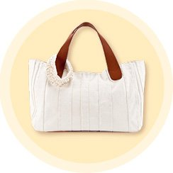Summer White Accessories: Handbags and Jewelry