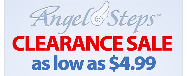 Angel Step™ Clearance Sale! - As Low As $4.99 - Shop Now
