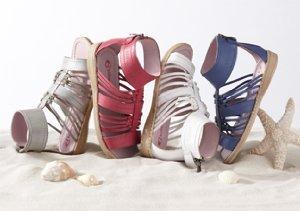 Happy Feet: Girls' Sandals