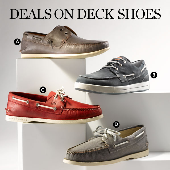 DEALS ON DECK SHOES