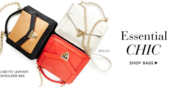 Essential Chic. Shop Bags