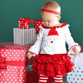 Holiday Delights: Infant Apparel