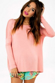 BACK TO BASICS LONG SLEEVE TOP 28