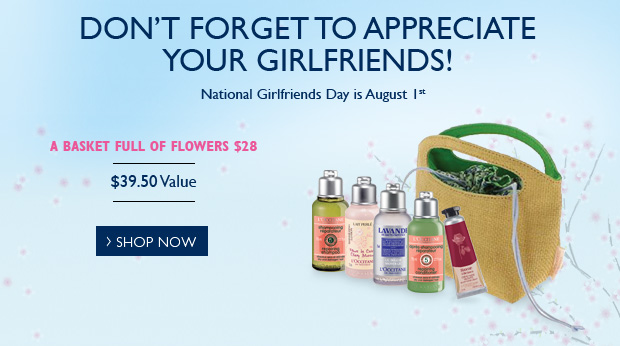 Don't Forget to Appreciate Your Girlfriends! National Girlfriends Day is August 1st.