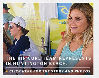 Rip Curl Strikes Again at The U.S. Open of Surfing.