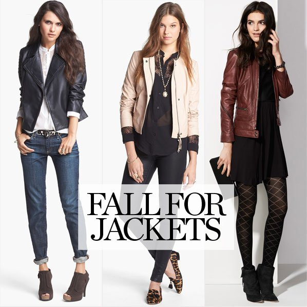 GET FALL'S BEST JACKETS NOW