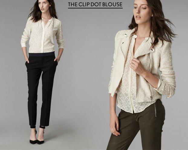 The Clip Dot Blouse