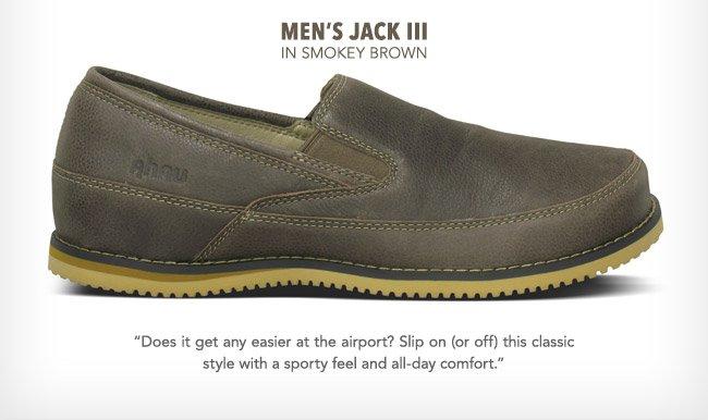 men's Jack III in smokey brown