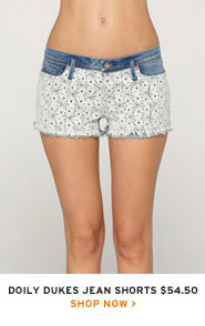 Doily Dukes Jean Shorts $54.50 - Shop now