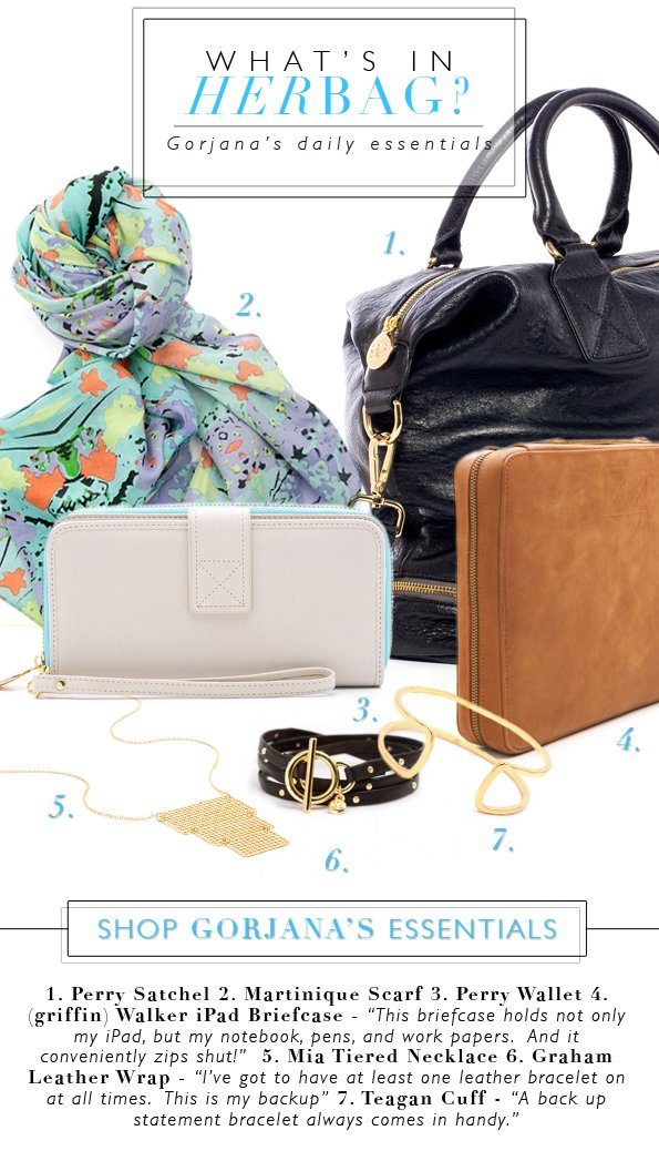 What's In Her Bag?