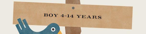BOY 4–14 YEARS