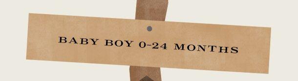 BABY BOY 0–24 MONTHS