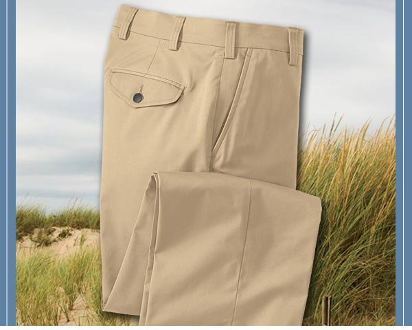 Our lightweight stretch twill resists wrinkles to keep you comfortable and looking great at home or on the road.