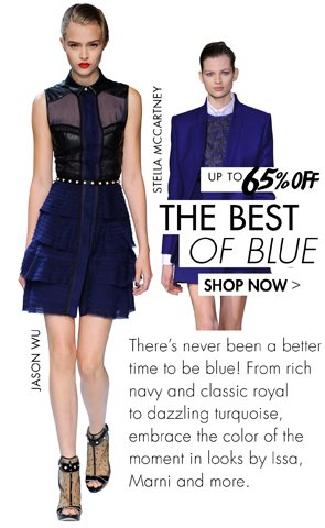 THE BEST OF BLUE UP TO 65% OFF