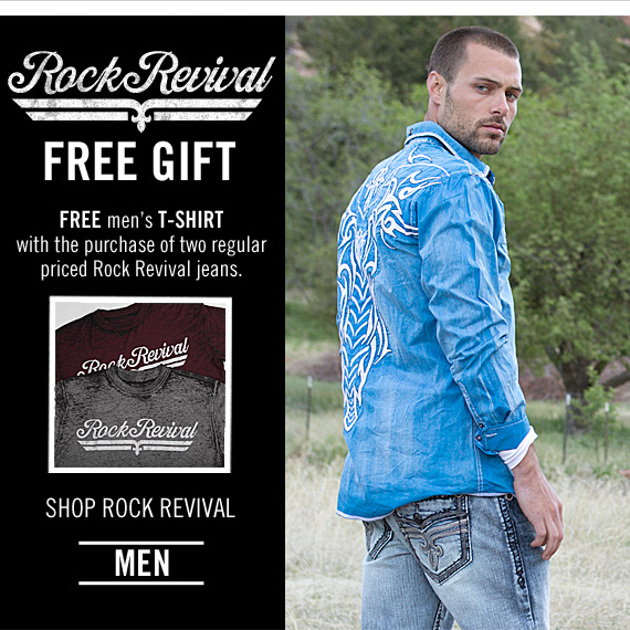 Shop Men's Rock Revival