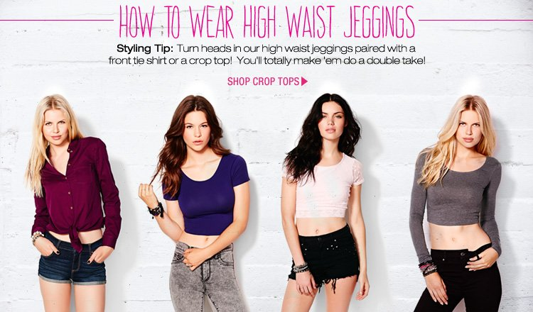 Wear High Waist Jeggings