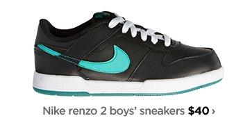 Nike renzo 2 boys' sneakers $40 ›