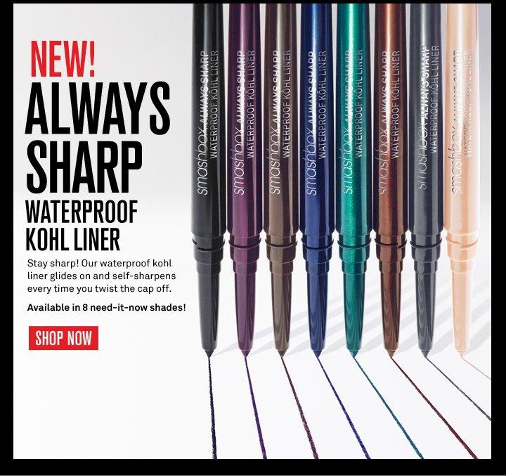 New! Always Sharp Waterproof Kohl Liner