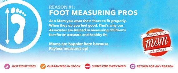 Foot Measuring Pros