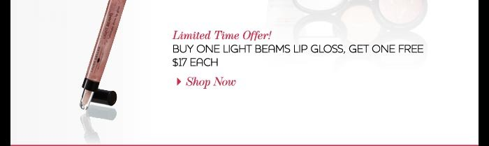 Light Beams Lip Gloss Offer