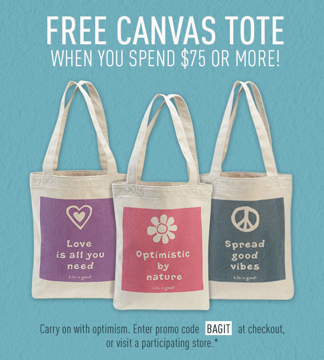Free Tote with a Purchase of $75
